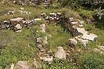 Samaria, archeological remnants in Tel Shiloh