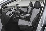 Front seat view of 2021 Skoda Enyaq-iV 80 5 Door SUV Front Seat  car photos
