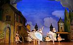 LA FILLE MAL GARDEE....Choregraphie : ASHTON Frederick..Mise en scene : ASHTON Frederick..Compositeur : HEROLD Louis joseph Ferdinand..Compagnie : Ballet de l Opera National de Paris..Orchestre : Orchestre de l Opera National de Paris..Decor : LANCASTER Osbert..Lumiere : THOMSON George..Costumes : LANCASTER Osbert..Avec :..OULD BRAHAM Myriam..BANCE Caroline..WIART Geraldine..VILLAGRASSA Karine..ARNAUD Anemone..DJINIADHIS Noemie..DURSORT Peggy..RAUX Ninon..VAUTHIER Gwenaelle..Lieu : Opera Garnier..Ville : Paris..Le : 26 06 2009..© Laurent PAILLIER / www.photosdedanse.com..All rights reserved