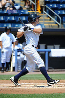 Staten Island Yankees infielder Eric Jagielo (14) during game against the Batavia Muckdogs at Richmond County Bank Ballpark at St.George on July 18, 2013 in Staten Island, NY.  Batavia defeated Staten Island 8-2.  (Tomasso DeRosa/Four Seam Images)