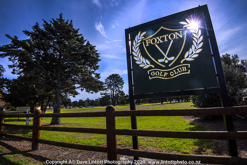 Foxton Golf Club in Foxton, New Zealand on Thursday, 14 May 2020. Photo: Dave Lintott / lintottphoto.co.nz