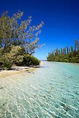 Entrée de la piscine Naturelle, baie d'Oro, Ile des Pins, Nouvelle-Calédonie