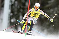 21st December 2020; Alta Badia Ski Resort, Dolomites, Italy; International Ski Federation World Cup Slalom Skiing; Linus Strasser (GER)