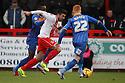 Michael Doughty of Stevenage on the attack<br />  - Stevenage v Shrewsbury Town - Sky Bet League 1 - Lamex Stadium, Stevenage - 30th November, 2013<br />  © Kevin Coleman 2013