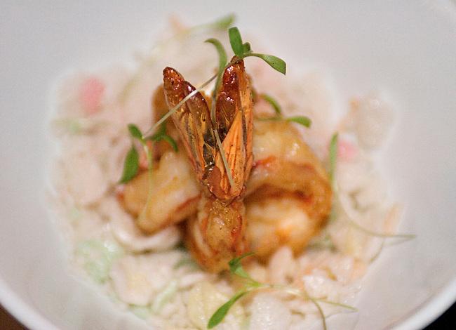 STK Restaurant, Shrimp Rice Crispi, Lower Manhattan, New York, New York