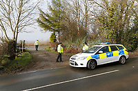 2018 03 07 Crime scene in St Clears, Wales, UK