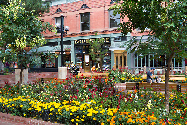 Parents, Boulder Bookstore, Pearl Street Mall