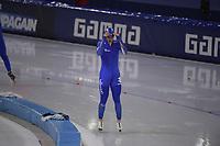 SPEEDSKATING: HEERENVEEN: 12/14-02-2021, IJsstadion Thialf, ISU World Speed Skating Championships 2021, ©photo Martin de Jong