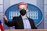 MAR 24 Megan Rapinoe at The White House