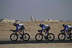 Garmin-Cervelo team in action during the 2nd Stage of the 2012 Tour of Qatar an 11.3km team time trial at Lusail Circuit, Doha, Qatar. 6th February 2012.<br /> (Photo Eoin Clarke/Newsfile)