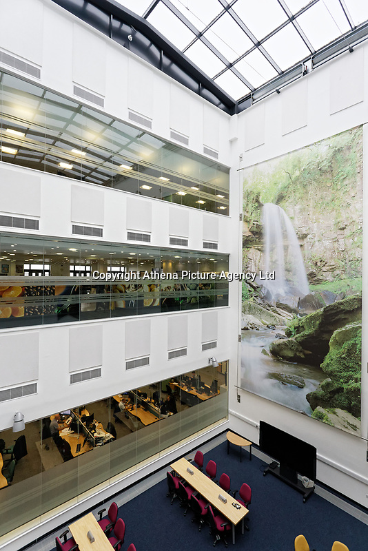 Pictured: Interior view. Wednesday 29 May 2019<br /> Re: DVLA in Swansea, Wales, UK.