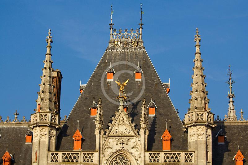 Belgium, Bruges, Provincial Palace