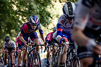 up the Kemmelberg<br /> <br /> 9th Gent-Wevelgem in Flanders Fields 2020<br /> Elite Womens Race (1.WWT)<br /> <br /> One Day Race from Ypres (Ieper) to Wevelgem 141km<br /> <br /> ©kramon
