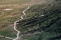 descent of Colle delle Finestre <br /> <br /> stage 19: Venaria Reale - Bardonecchia (184km)<br /> 101th Giro d'Italia 2018