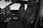 Front seat view of a 2015 Land Rover RANGE ROVER Vogue 5 Door SUV Front Seat car photos
