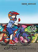 Roger, CHILDREN, KINDER, NIÑOS, paintings+++++,GBRMED0122,#k#, EVERYDAY