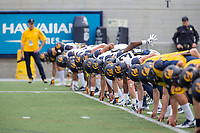 BERKELEY, CA - April 22, 2017: Cal Bears Spring Football Game