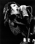 Queen 1974 Freddie Mercury.© Chris Walter.