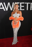 NEW YORK, NY- SEPTEMBER 10: Saweetie at the MAC Cosmetics celebration announcing Saweetie as it's newest MAC Girl at a private event in New York City on September 10, 2021. <br /> CAP/MPI/WG<br /> ©WG/MPI/Capital Pictures