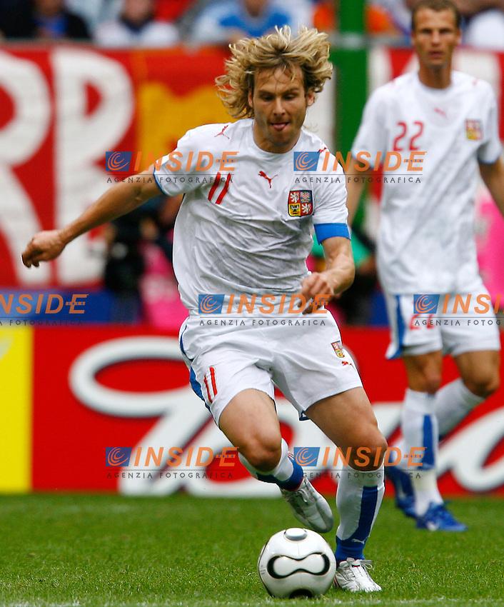 HAmburg 22/6/2006 World Cup 2006.Repubblica Ceca Italia 0-2 0-2.Photo Andrea Staccioli Insidefoto.Pavel Nedved Czech Republic