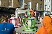 Merry-go-round at Church Street Summer Festival 2005, Paddington, London.