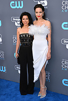 Angelina Jolie & Loung Ung at the 23rd Annual Critics' Choice Awards at Barker Hangar, Santa Monica, USA 11 Jan. 2018<br /> Picture: Paul Smith/Featureflash/SilverHub 0208 004 5359 sales@silverhubmedia.com