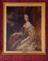 A portrait of Henrietta Duchess of Orleans by Sir Peter Lely (1618-80) hangs in the grand banqueting hall
