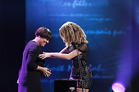 October 22, 2013 File Photo -<br /> Ariane Moffat (L) and Marie-Mai Bouchard (R) perform at <br /> ADISQ l'autre Gala at Place-des-Arts.