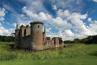 Caerlaverock Castle, Dumfries & Galloway<br /> <br /> Copyright www.scottishhorizons.co.uk/Keith Fergus 2011 All Rights Reserved