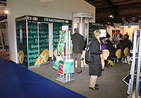 ***NO FEE PIC*** 28/01/2011 The Trailfinders stall during the Holiday World Show in the RDS which runs from Friday 28th Jan - Sunday 30th Jan, Dublin. Photo: Gareth Chaney Collins