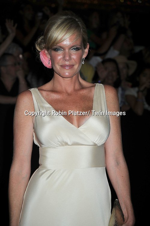 Maura West arriving at the 37th Annual Daytime Emmy Awards at The Hilton in Las Vegas in Nevada on June 27, 2010