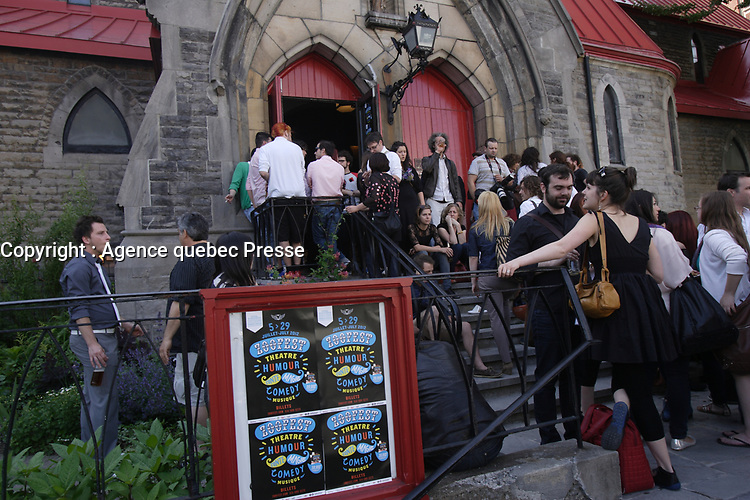 June 2012 File Photo - Montreal, Quebec, CANADA -  Launch of ZOOFEST programmation