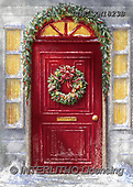 Marcello, CHRISTMAS SYMBOLS, WEIHNACHTEN SYMBOLE, NAVIDAD SÍMBOLOS, paintings+++++,ITMCXM1823B,#XX# ,Christmas wreath