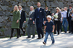 "Crown Prince Haakon, and Crown Princess Mette-Marit of Norway on the first day of their 3 day county trip to More & Romsdal..Visit "" Geiranger "" with their son Prince Sverre Magnus"