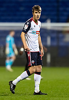Bolton Wanderers' George Thomason looks on <br /> <br /> Photographer Andrew Kearns/CameraSport<br /> <br /> EFL Papa John's Trophy - Northern Section - Group C - Bolton Wanderers v Newcastle United U21 - Tuesday 17th November 2020 - University of Bolton Stadium - Bolton<br />  <br /> World Copyright © 2020 CameraSport. All rights reserved. 43 Linden Ave. Countesthorpe. Leicester. England. LE8 5PG - Tel: +44 (0) 116 277 4147 - admin@camerasport.com - www.camerasport.com