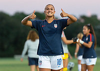 Lakewood Ranch, FL - Friday October 12, 2018: The U-17 USWNT defeated Mexico's U-17's 3-1.