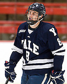 Josh Balch (Yale - 8) is announced as a starter. - The Harvard University Crimson defeated the visiting Yale University Bulldogs 8-2 in the third game of their ECAC Quarterfinal matchup on Sunday, March 11, 2012, at Bright Hockey Center in Cambridge, Massachusetts.