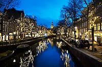 Nederland  Amsterdam   2021.  De Spiegelgracht in Amsterdam.  Foto Berlinda van Dam / HH / ANP