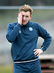 St Johnstone Training…25.02.18<br />Liam Craig pictured during training at McDiarmid Park ahead of the Rangers game<br />Picture by Graeme Hart.<br />Copyright Perthshire Picture Agency<br />Tel: 01738 623350  Mobile: 07990 594431