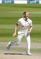 30th May 2021; Emirates Old Trafford, Manchester, Lancashire, England; County Championship Cricket, Lancashire versus Yorkshire, Day 4; Luke Wood of Lancashire