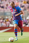 FC Barcelona's Martin Braithwaite during La Liga match. August 29, 2021. (ALTERPHOTOS/Acero)