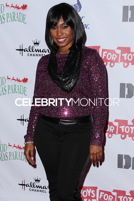 HOLLYWOOD, CA - DECEMBER 01: Angell Conwell arriving at the 82nd Annual Hollywood Christmas Parade held at Hollywood Boulevard on December 1, 2013 in Hollywood, California. (Photo by Xavier Collin/Celebrity Monitor)
