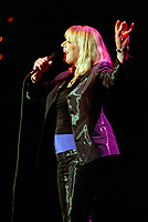 Montreal (Qc) CANADA, Ju;y 5, 1997-<br /> Marianne Faithfull in concert at the<br /> Montreal Jazz Festival.<br /> <br /> She became famous at 19 when she sang ``As tears goes by`` composed by her (then) boyfriend Mick Jagger.<br /> -Photo (c)  Images Distribution