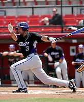Corey Steglich - 2009 Texas Christian Horned Frogs playing against the San Diego State Aztecs at Tony Gwynn Stadium, San Diego, CA - 04/25/2009 .Photo by:  Bill Mitchell/Four Seam Images