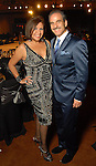 Debbie and Rudy Festari at the Una Notte in Italia party at the Intercontinental Houston Hotel Saturday Nov. 07,2009. (Dave Rossman/For the Chronicle)