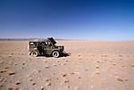 Break down in the Gobi Desert, Govi-Altai Province, Mongolia