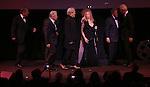 George Segal, Michael Douglas, Kris Kristofferson, Ben Stiller, Amy Irving, Barbra Streisand, Bill Clinton & Tony Bennett  during the Presentation for the 40th Annual Chaplin Award Gala Honoring Barbra Streisand at Avery Fisher Hall in New York City on 4/22/2013...