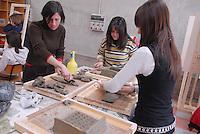 - I.P.S.I.A. (Professional Institute for Industry and Handicrafts) G. Meroni, vocational school for the wood industry, furniture and furnishings; decoration lab ..- I.P.S.I.A. (Istituto Professionale per l'Industria e l'Artigianato) G. Meroni, scuola di avviamento professionale per l'industria del legno, del mobile e dell'arredamento; laboratorio di decorazione