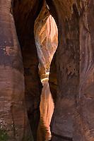 Water reflection in Tunnel Slot Canyon, near Escalante, Utah, October 2007