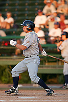 April 26 2010: Brent Wyatt (13) of the Lakeland Flying Tigers during a game vs. the Daytona Beach Cubs at Jackie Robinson Ballpark in Daytona Beach, Florida. Daytona, the Florida State League High-A affiliate of the Chicago Cubs, won the game against Lakeland, affiliate of the Detroit Tigers, by the score of 3-1  Photo By Scott Jontes/Four Seam Images